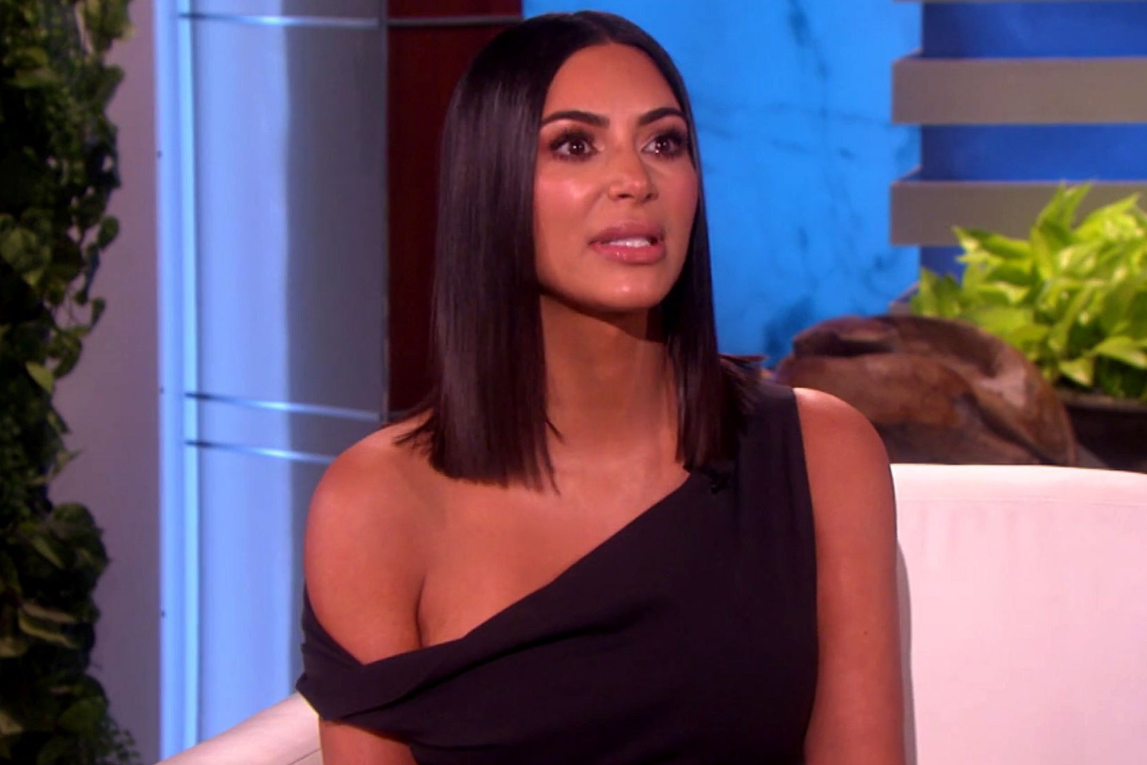 Kim Kardashian on Ellen Degeneres