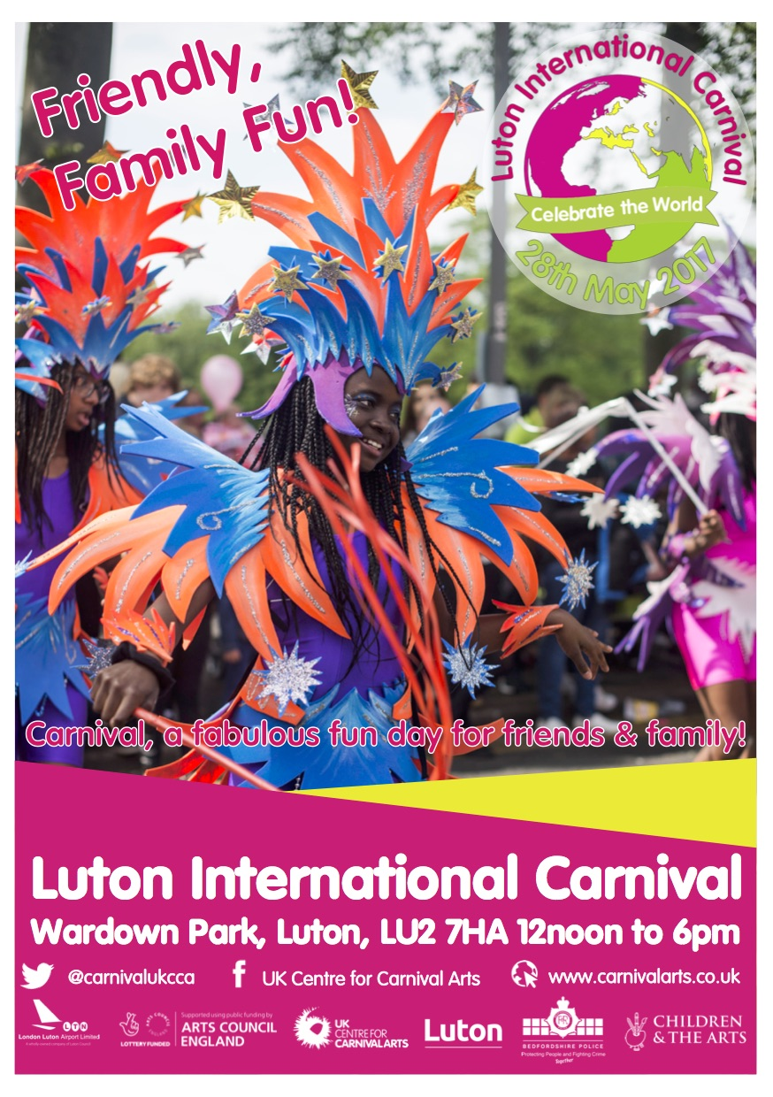Luton Carnival Poster 2017