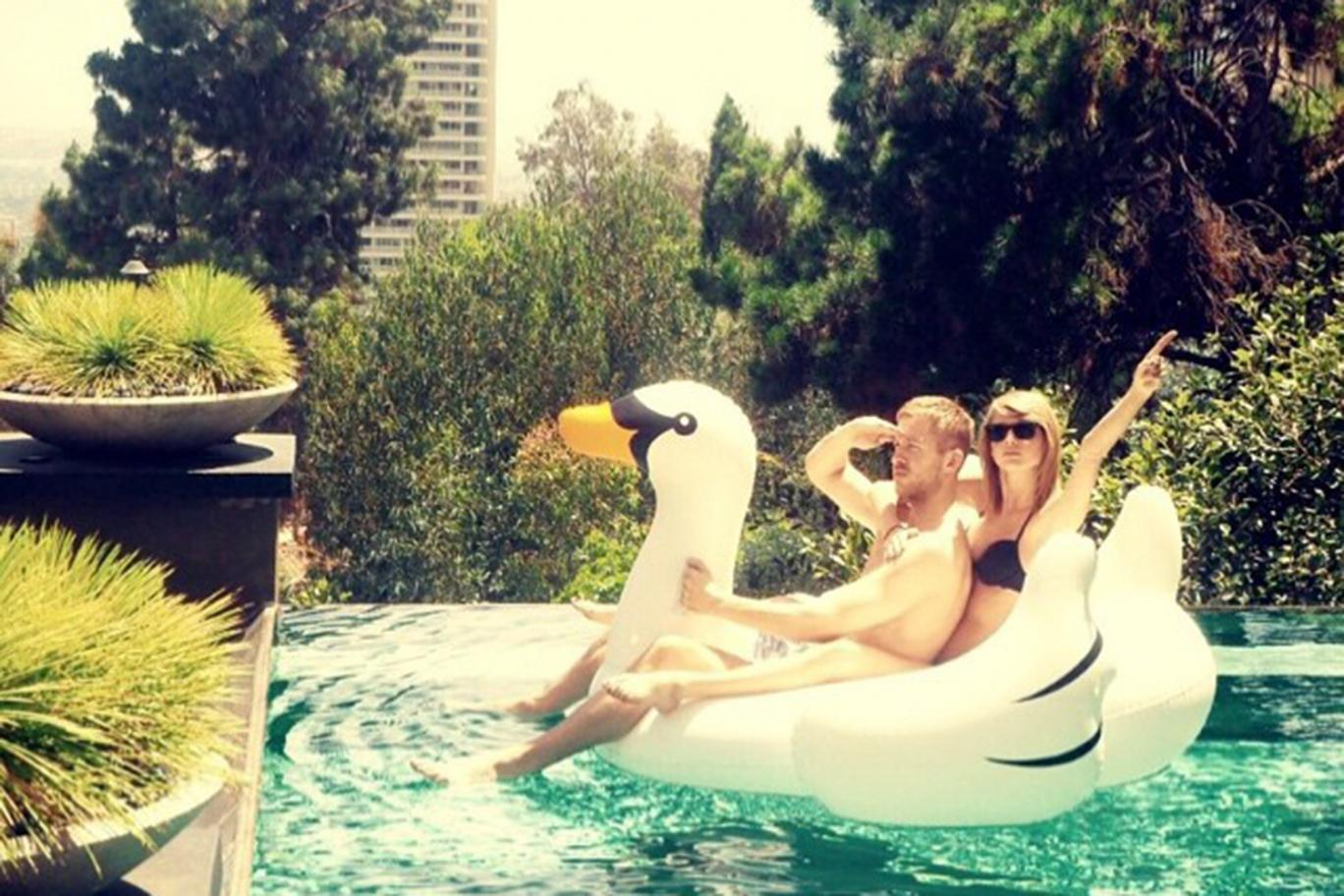 Taylor Swift Swan Goals