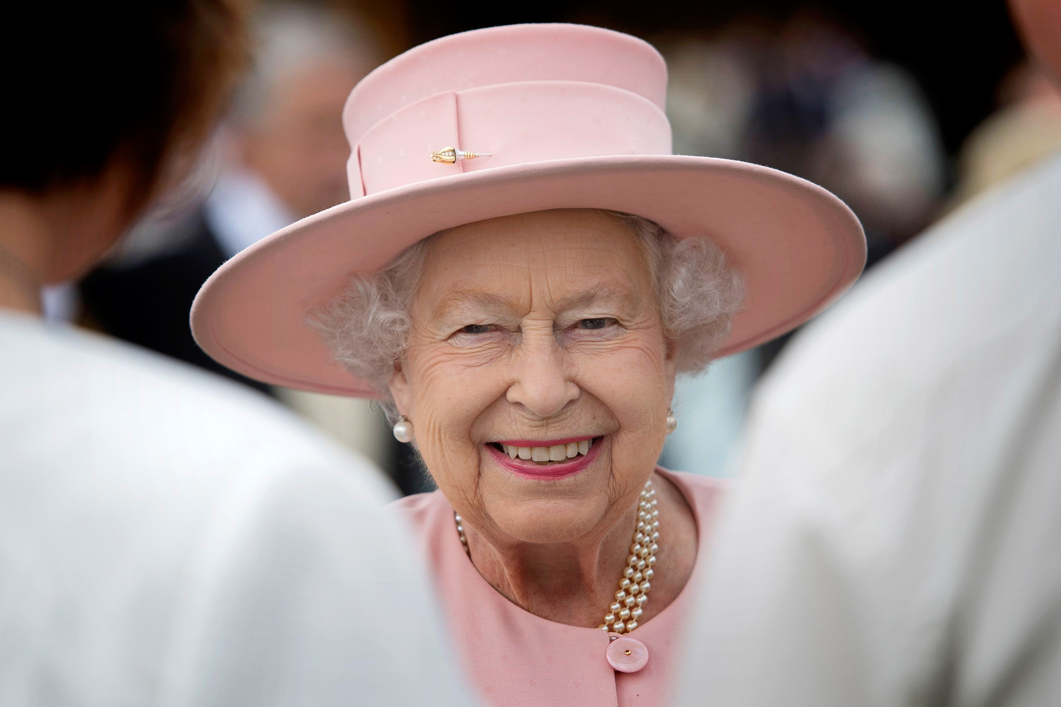Queen at the Royal Garden Party