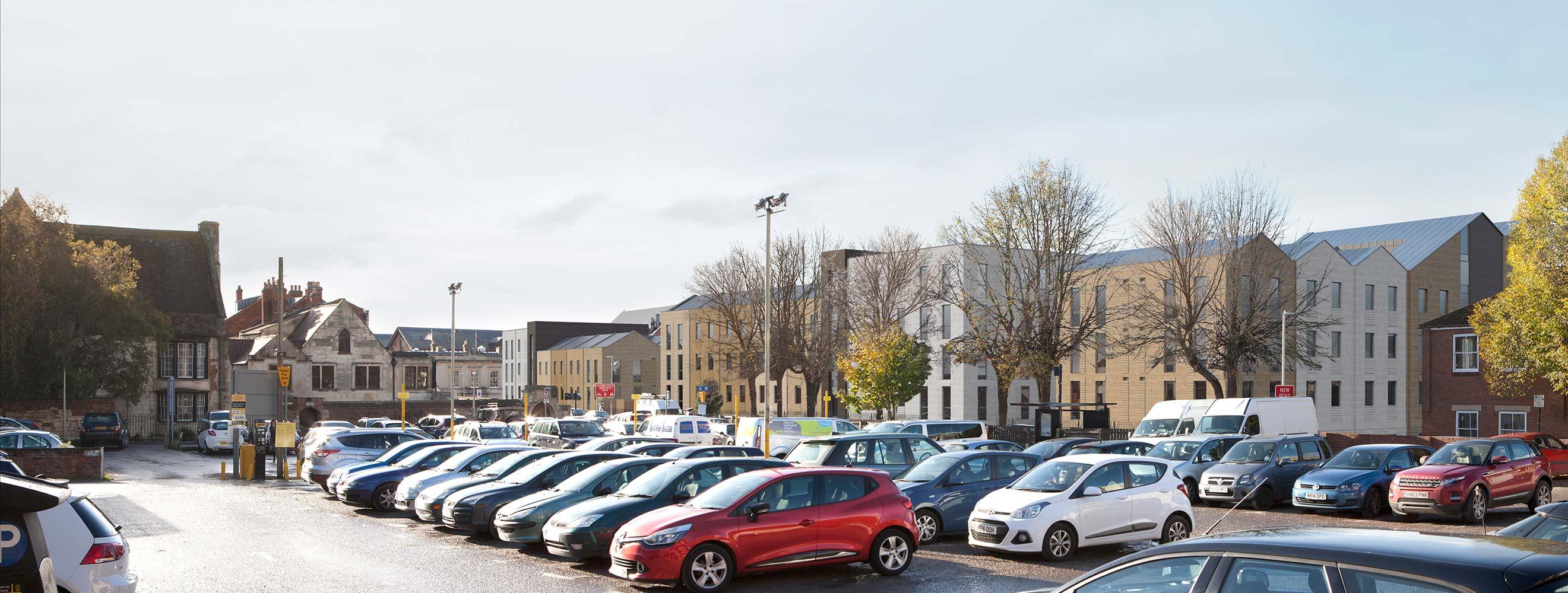 Gloucester car park Pic