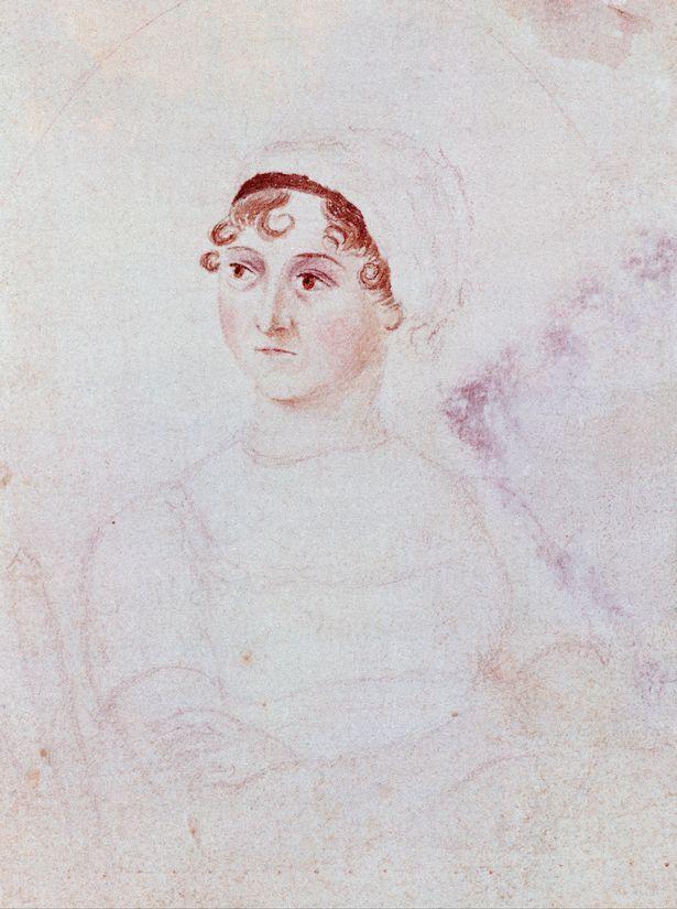 Jane Austen portrait by her sister Cassandra