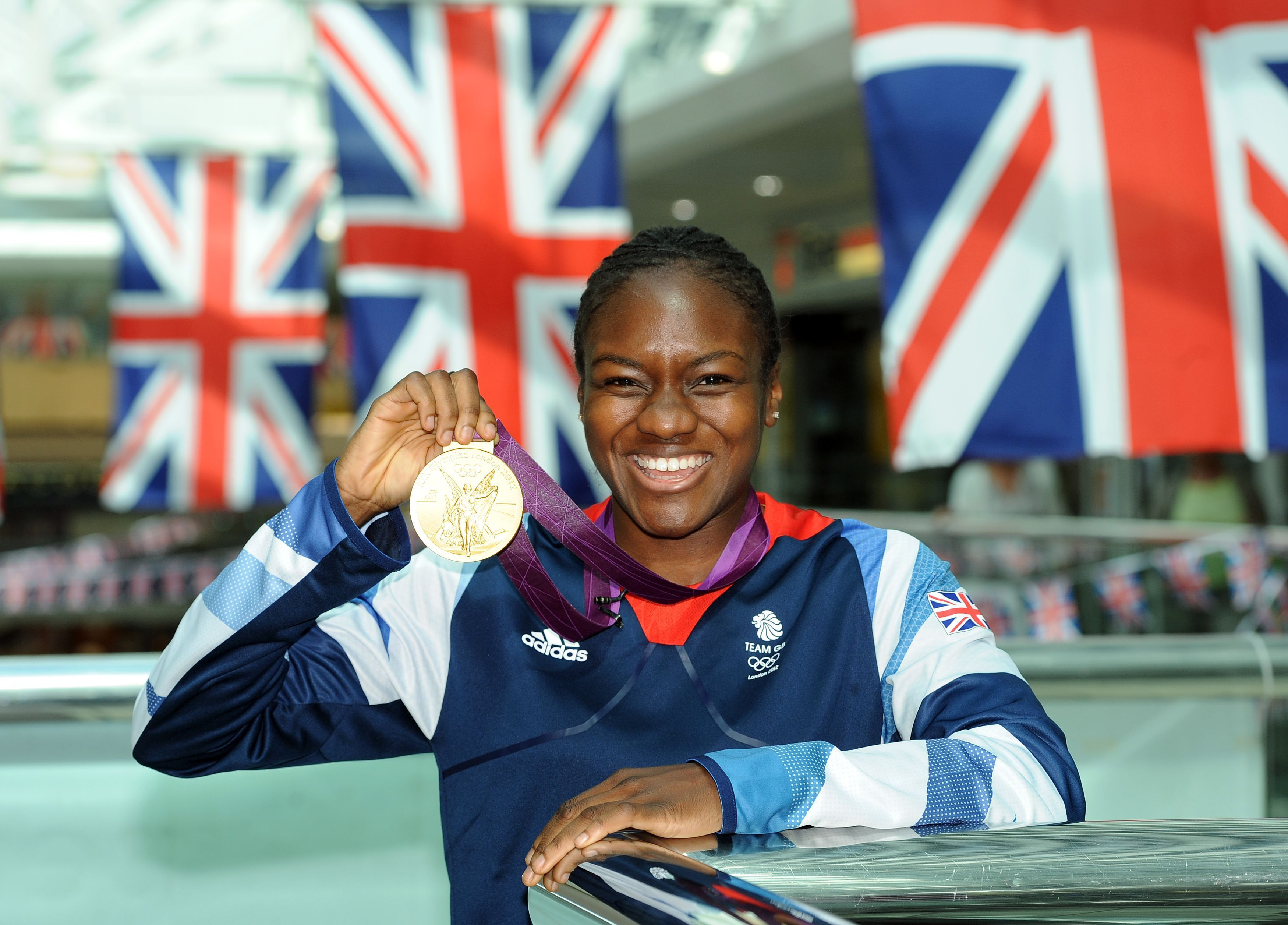Nicola Adams with Gold Medal