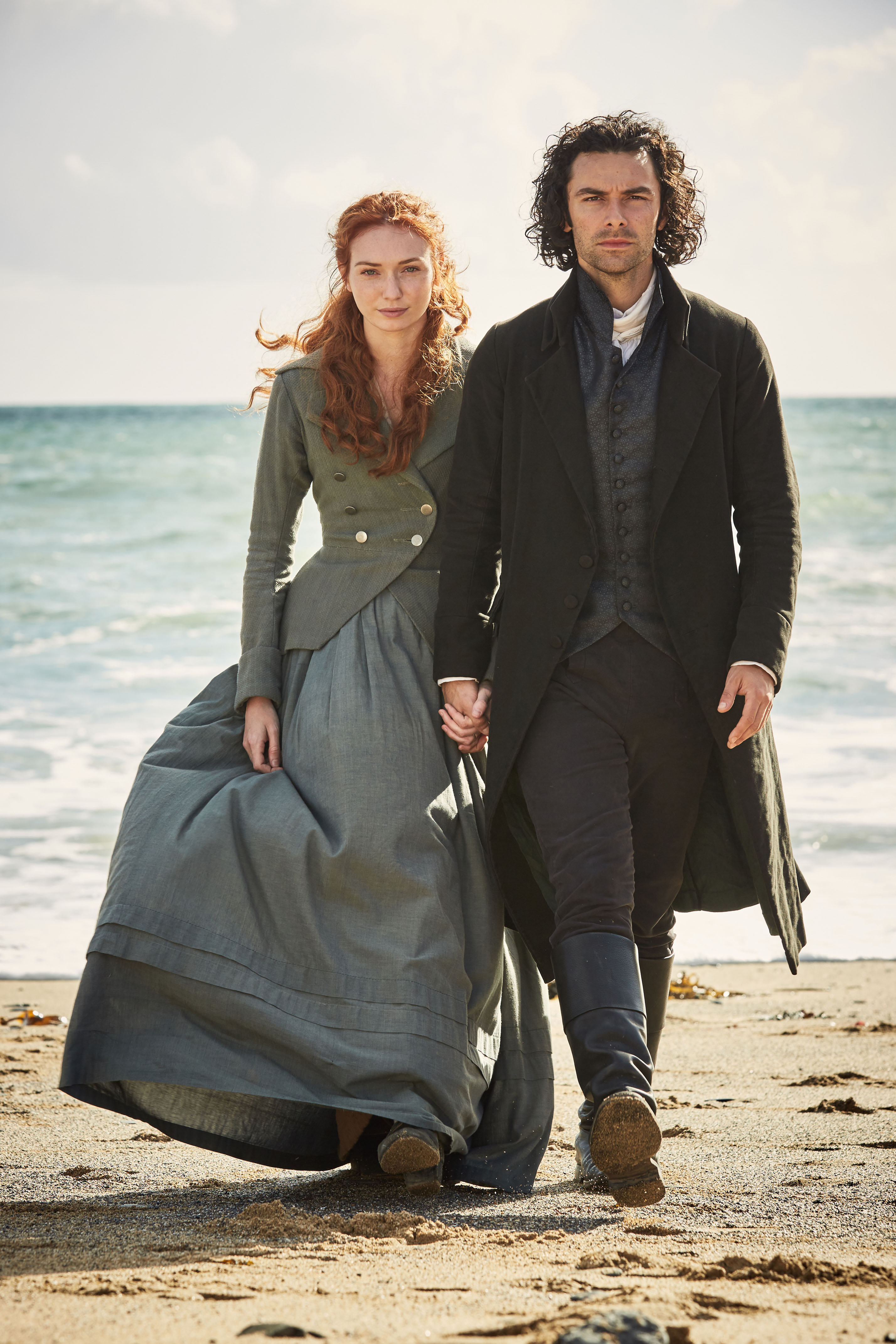 Damelza and ross Poldark series 3