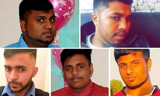 Five friend who died at Camber Sands
