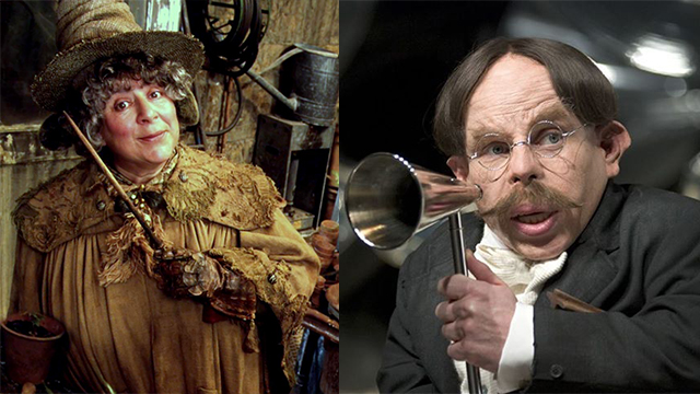 Professor Sprout and Professor Flitwick dated