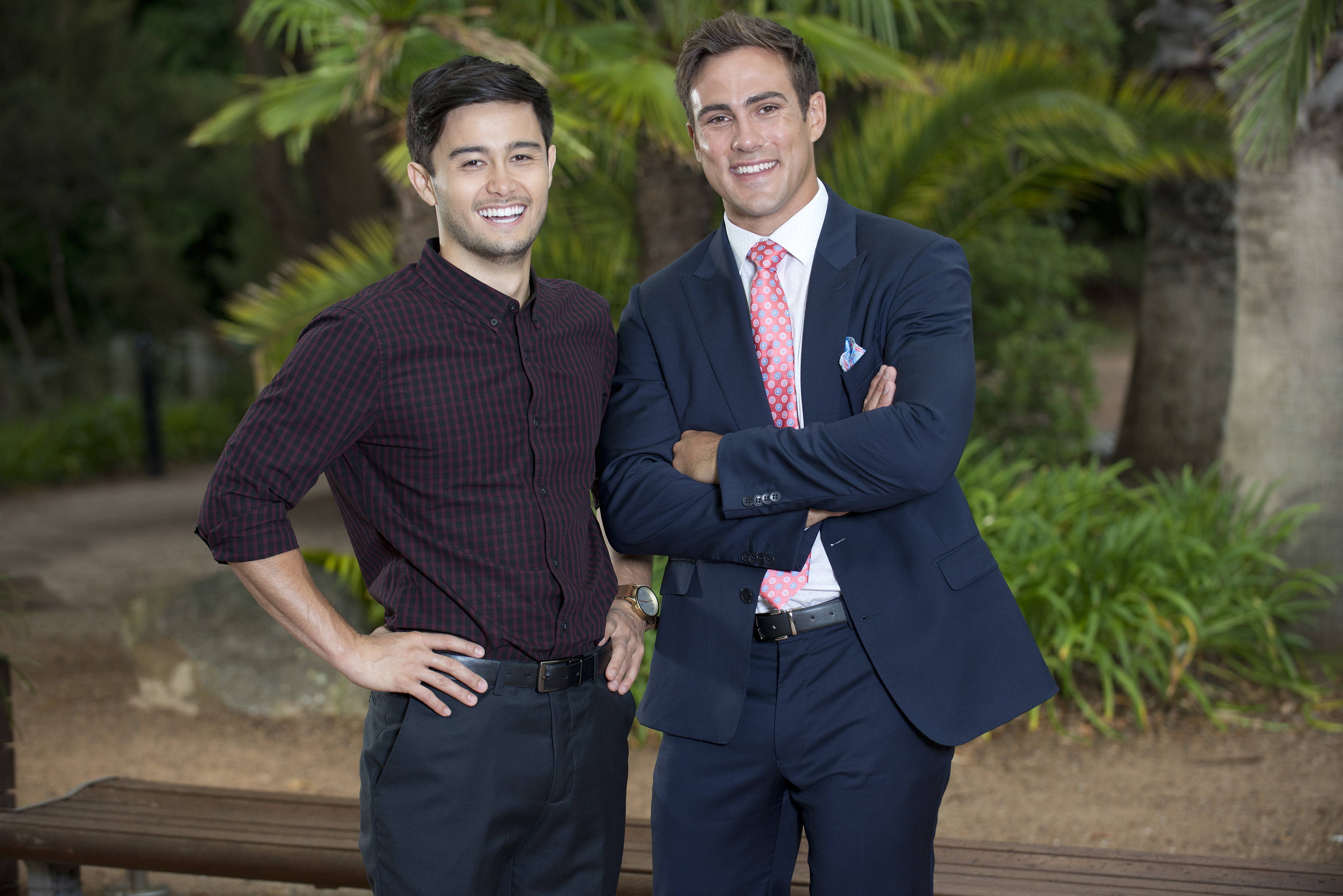 Neighbours actor - with Matt Wilson