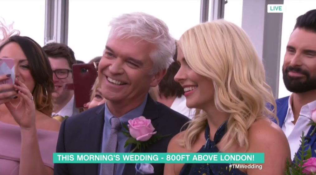 WATCH: Holly And Phil Surprise Couple With Honeymo