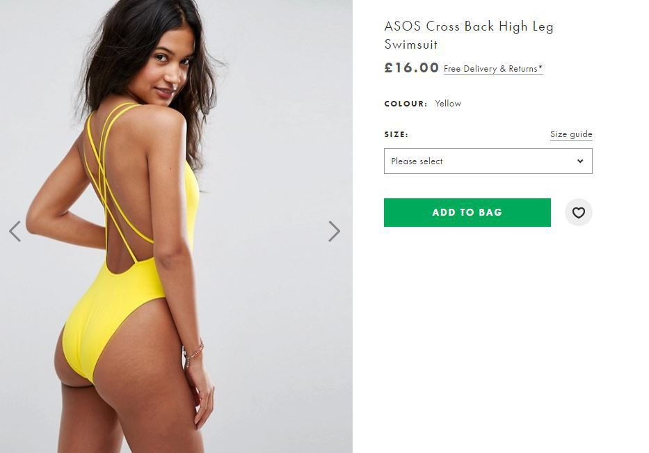 ASOS Celebrate Model's Body By NOT Editing Out Her