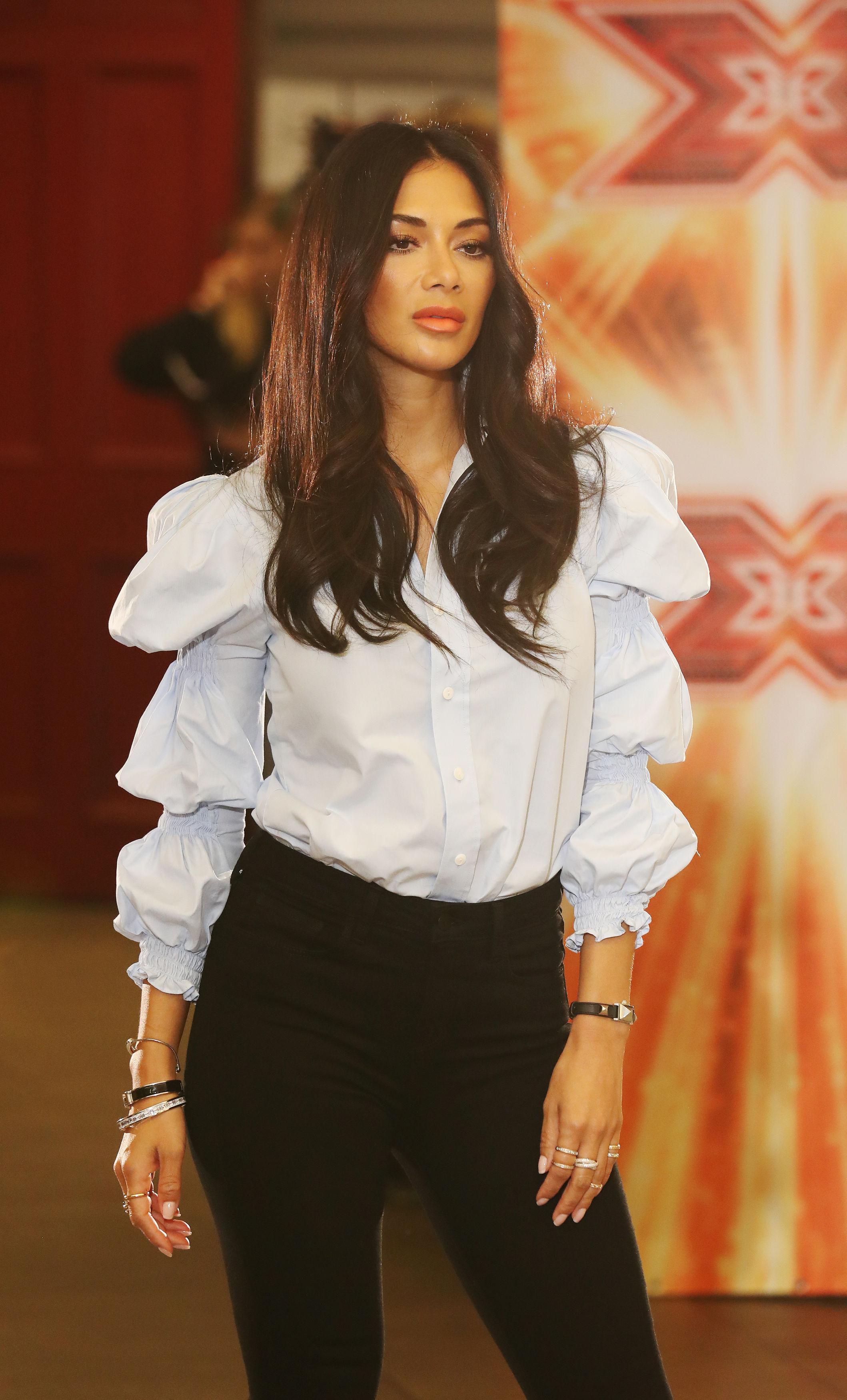 Nicole Sherzinger X Factor