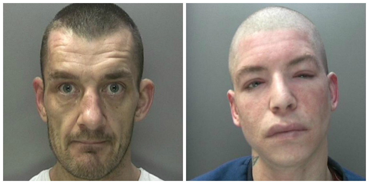 Steven Reid and Jerome Jones Birmingham burglar
