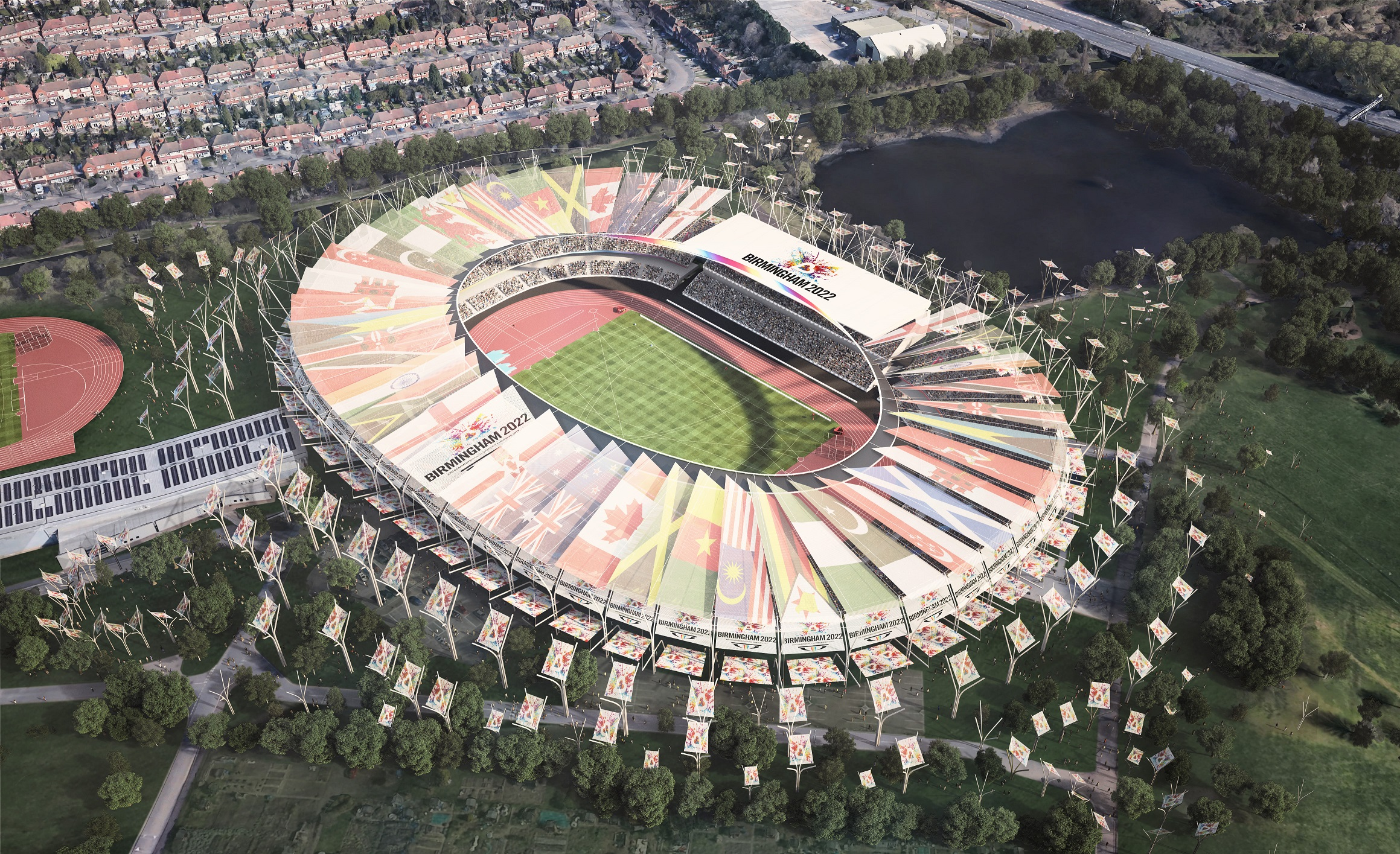 Alexander Stadium commonwealth