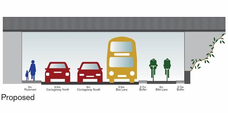 killingworth road proposed