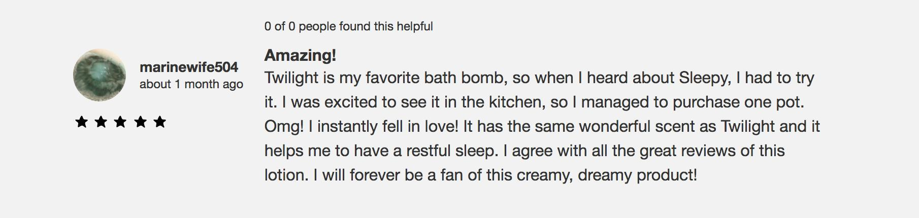 Lush review 2