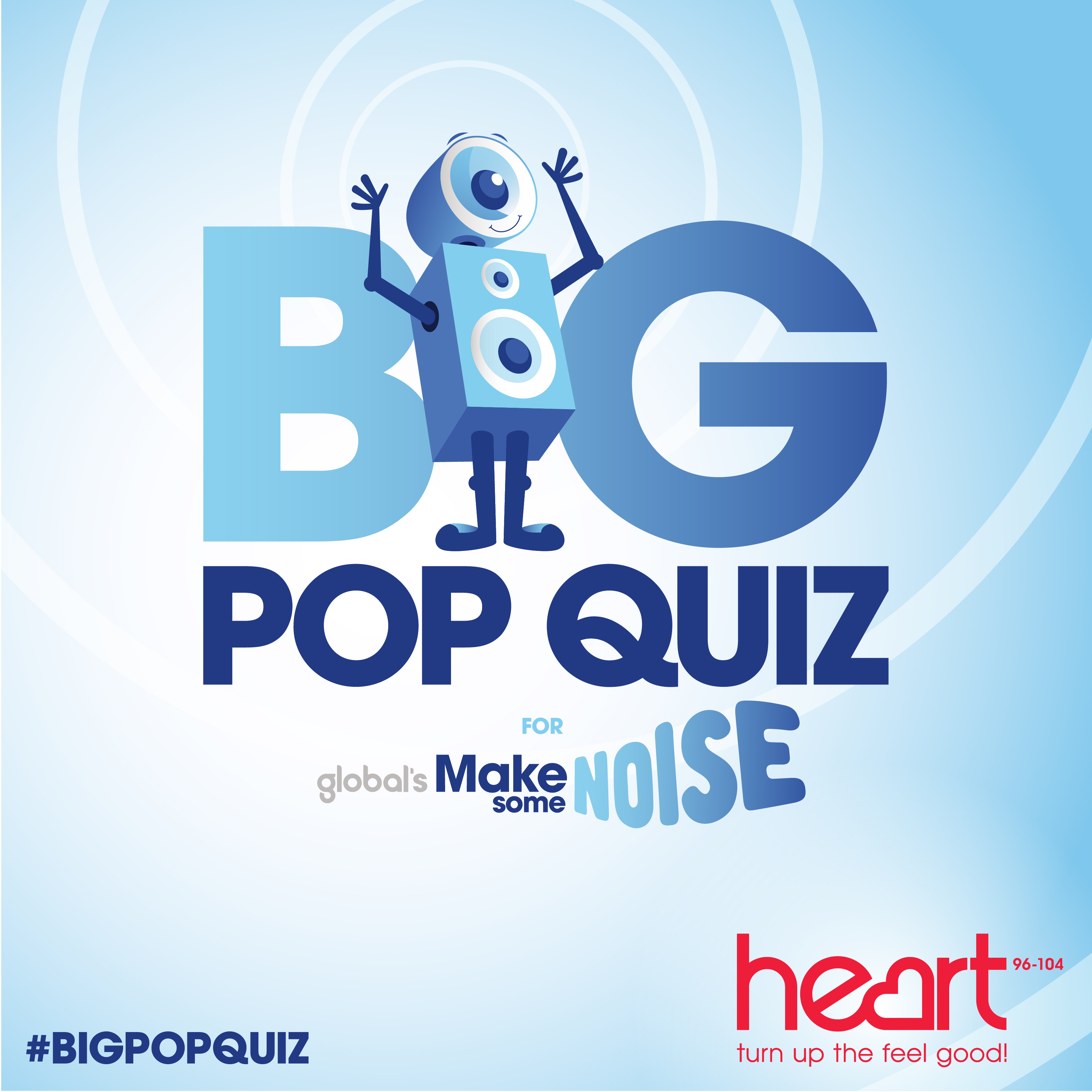 The BIG Pop Quiz for Make Some Noise 2017