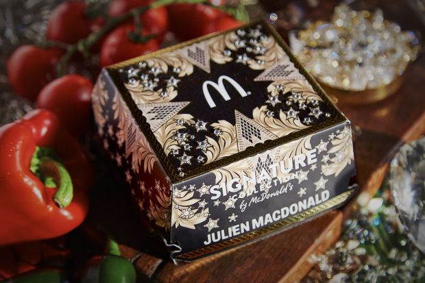 McDonalds Launch Bejewelled Designer Burger Boxes
