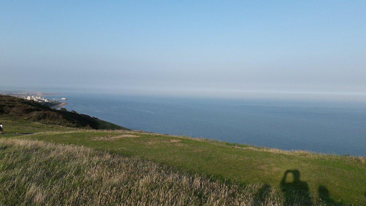 Haze in East Sussex