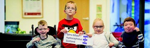 Kids from Spina Bifida Hydrocephalus Scotland