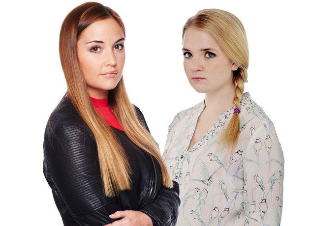 Lauren and Abi Branning, EastEnders