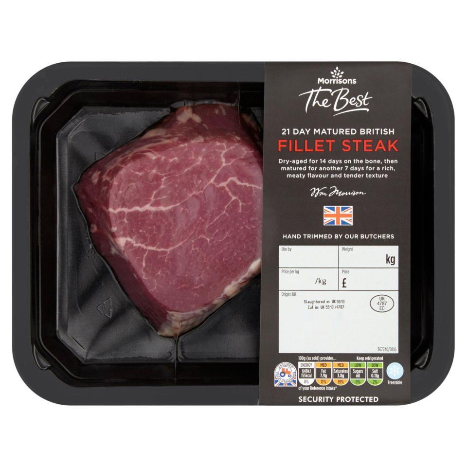 Morrisons Voted Best Steak