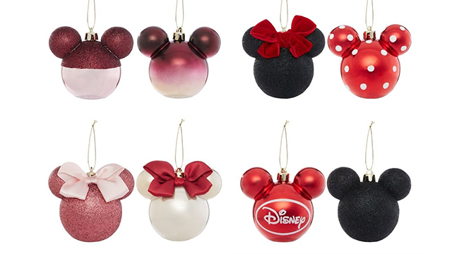 Primark Disney Baubles