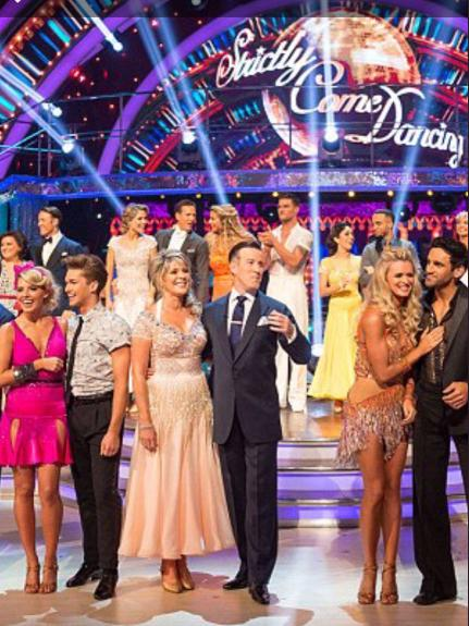 Ruth Langsford Injured Strictly Come Dancing