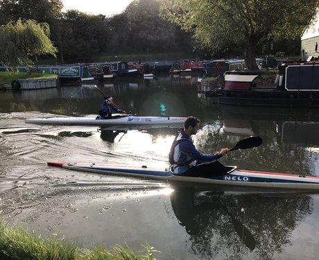 Row Row Row your kayak