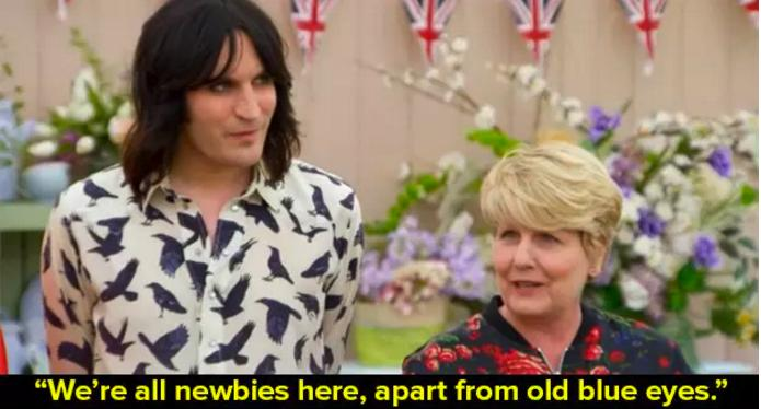 Noel Fielding Bake Off Paul Hollywood
