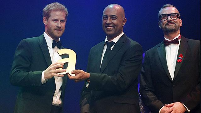 attitude awards, prince harry. princess Diana