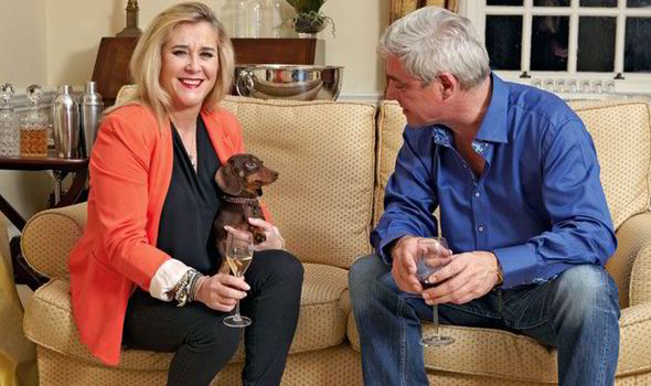 Steph and Dom Gogglebox Dog