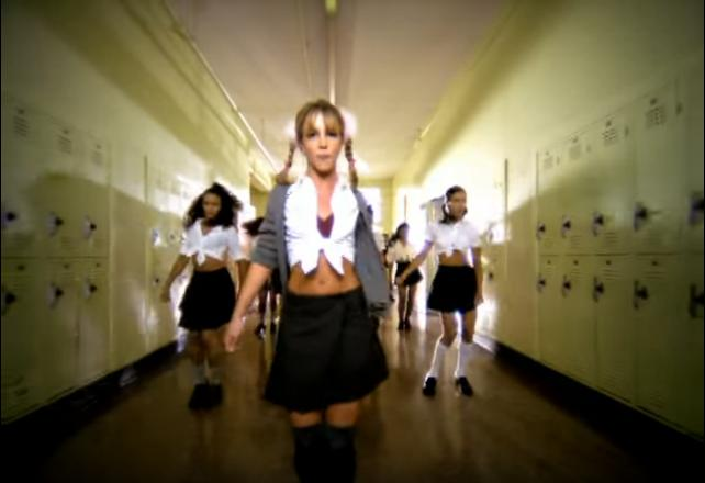 Britney Spears Baby One More Time throwback