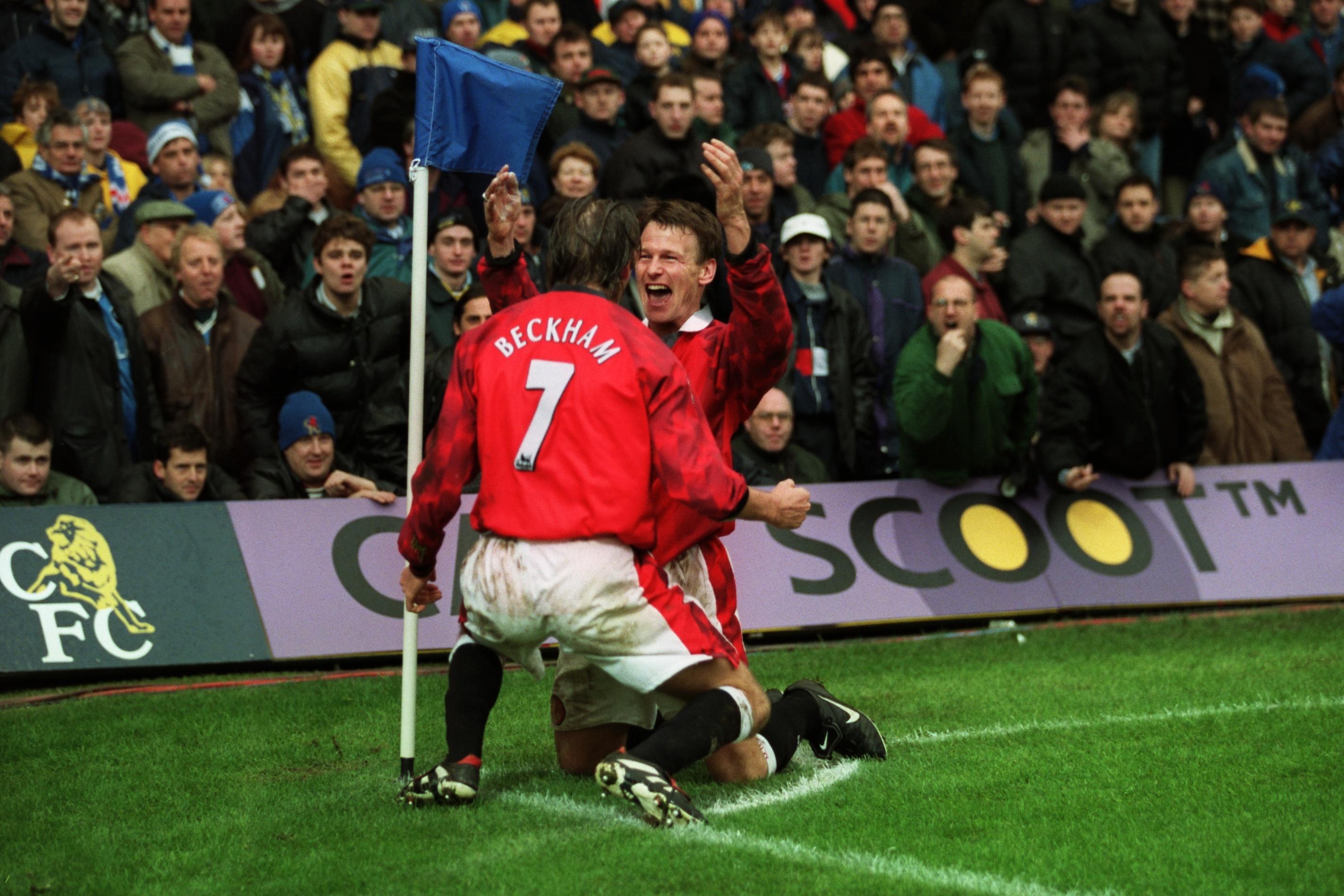 David Beckham Number 7