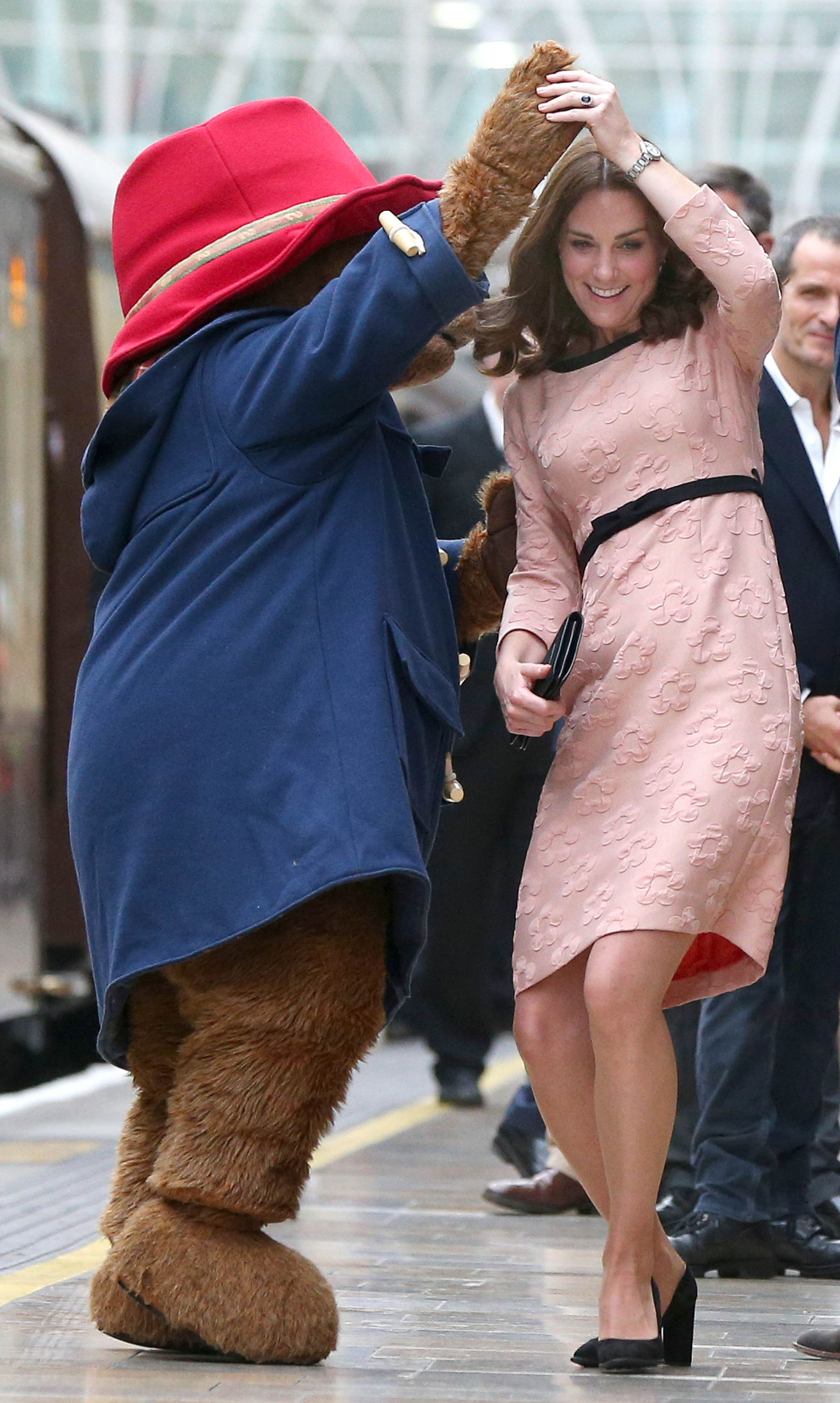 Duchess of Cambridge Kate baby bump