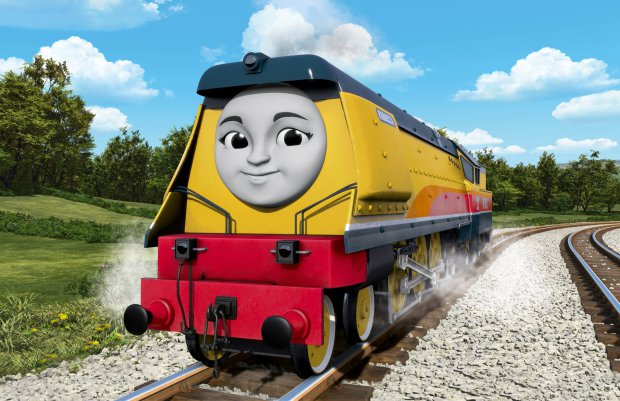 Rebecca tank engine