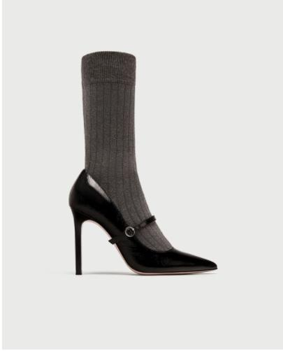 Zara Sock Stilettos