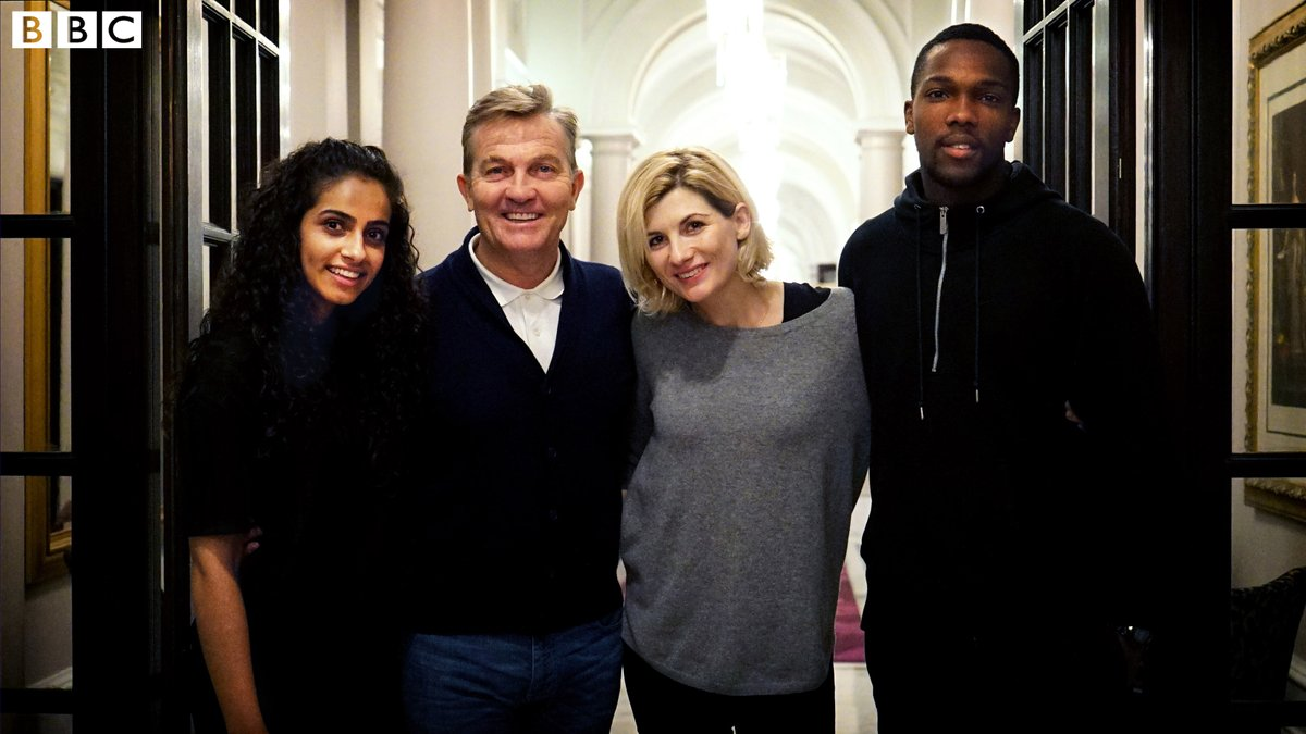 Jodie Whittaker and new Doctor Who companions