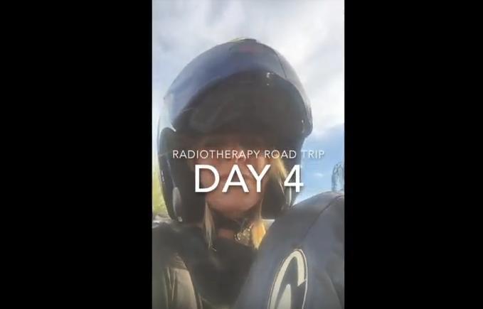 Mandy's radiotherapy roadtrip