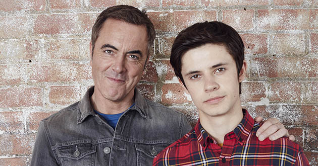 James Nesbitt and Cel Spellman, Cold Feet