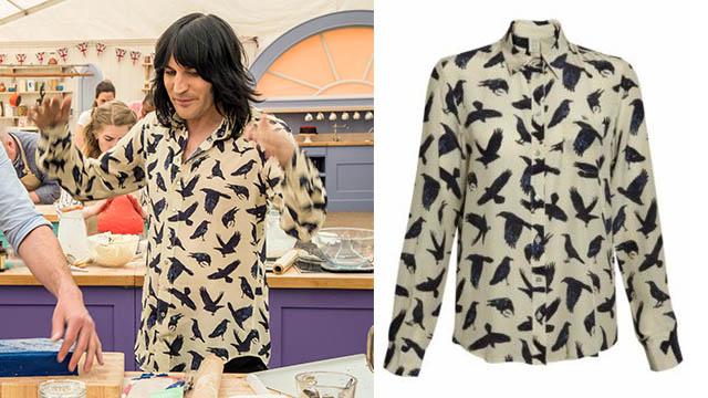Noel Fielding's Bake Off Shirts