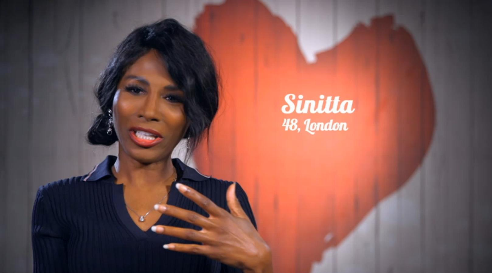 Sinitta First Dates