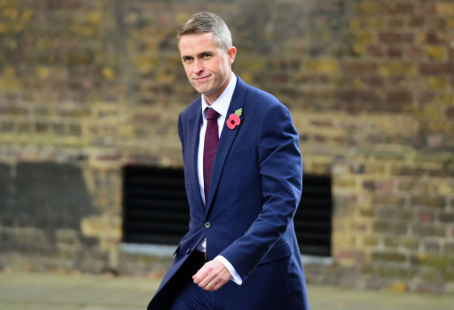 South Staffordshire MP Gavin Williamson