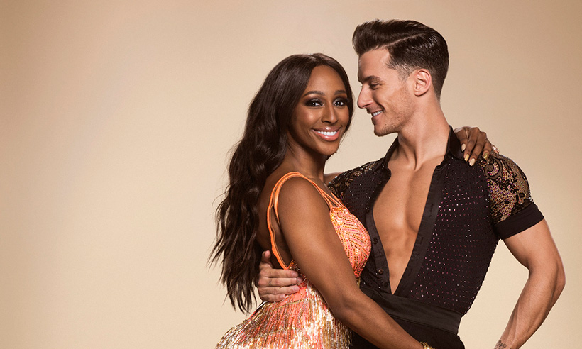 Strictly Alexandra Burke and Gorka