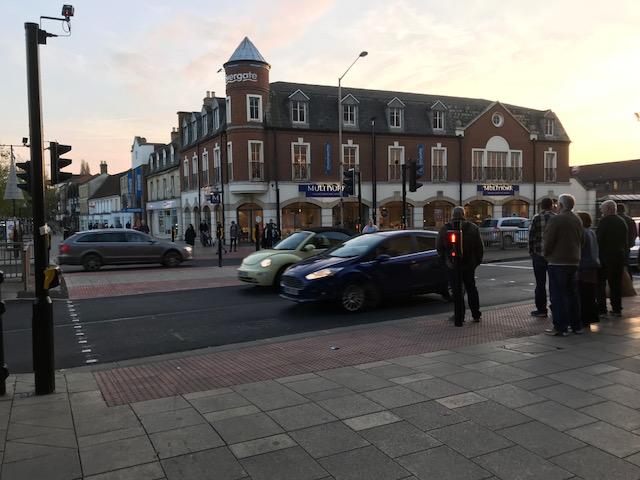 Bourges Boulevard Bridge Street Crossing 2