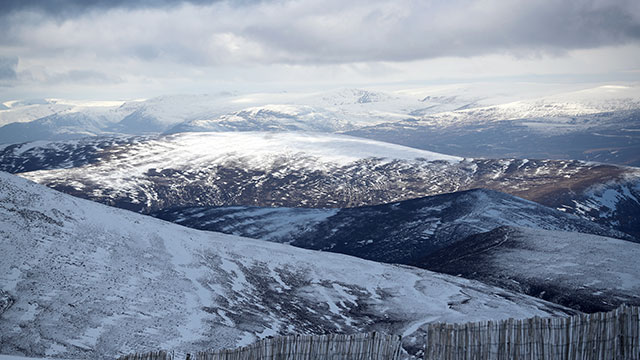 Cairngorm Mountain, snow, weather