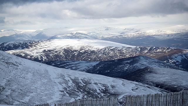 Cairngorm Mountain, snow, weather