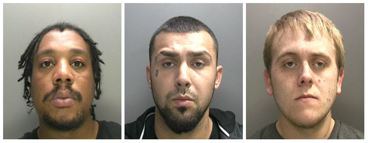 Drugs Gang Dudley Jailed Nov 2017