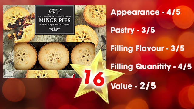 Heart's Mince Pie Taste Test