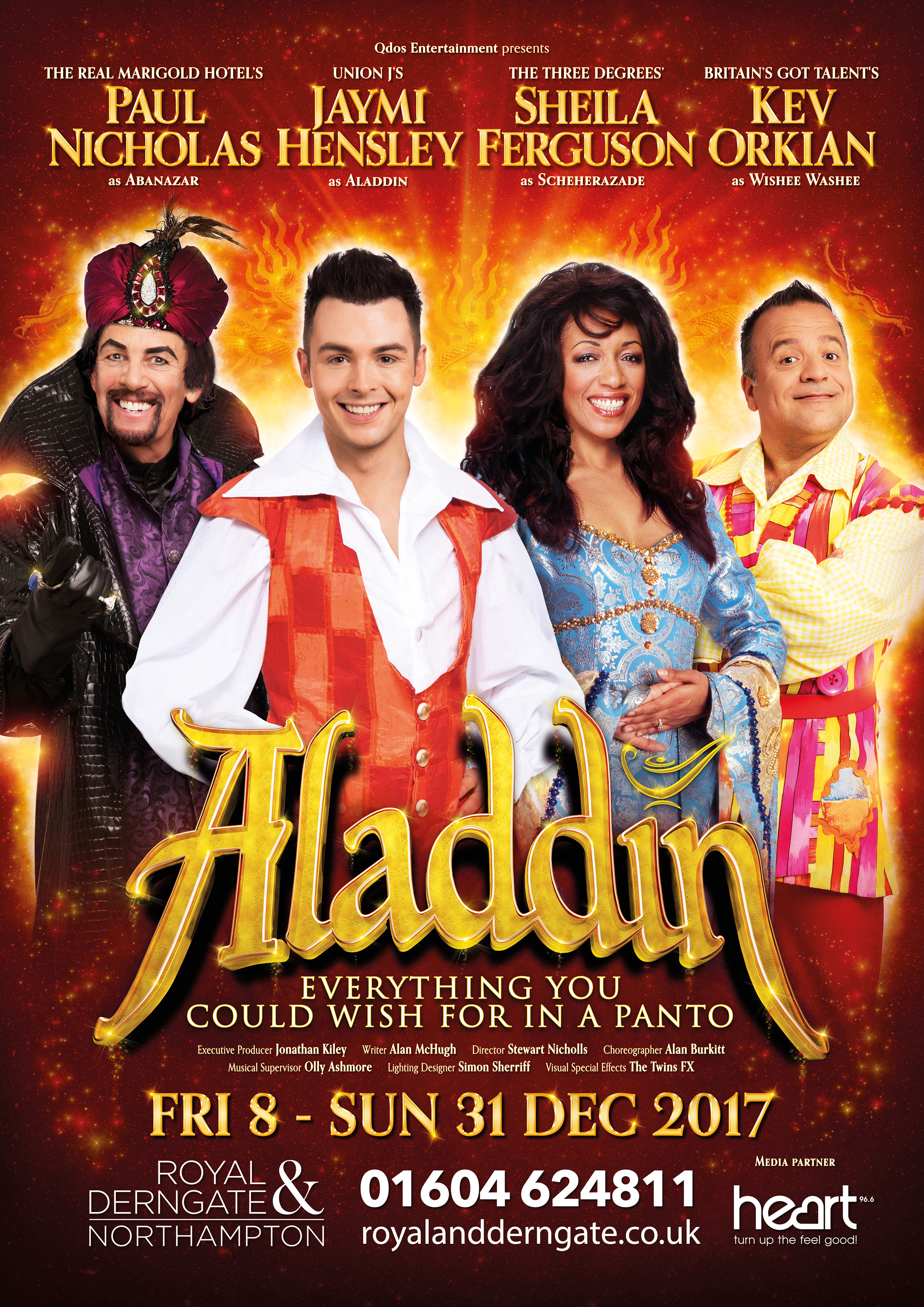 Aladdin at The Royal and Derngate