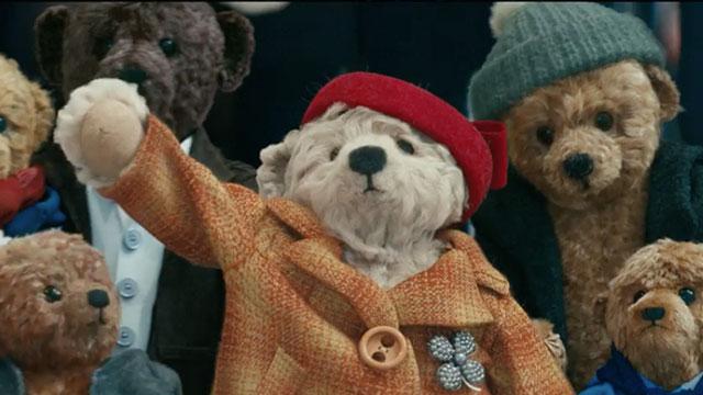 heathrow, bears, mr and mrs Bair