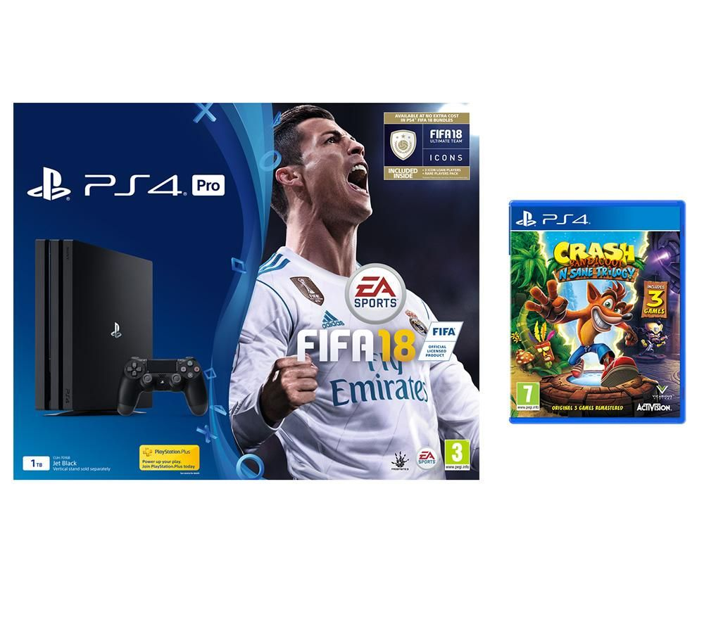PS4 FIFA 18/Crash Bandicoot